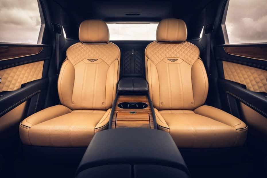 La versión de 4 asientos del Bentayga es la mejor forma de convertir el modelo en una limusina
