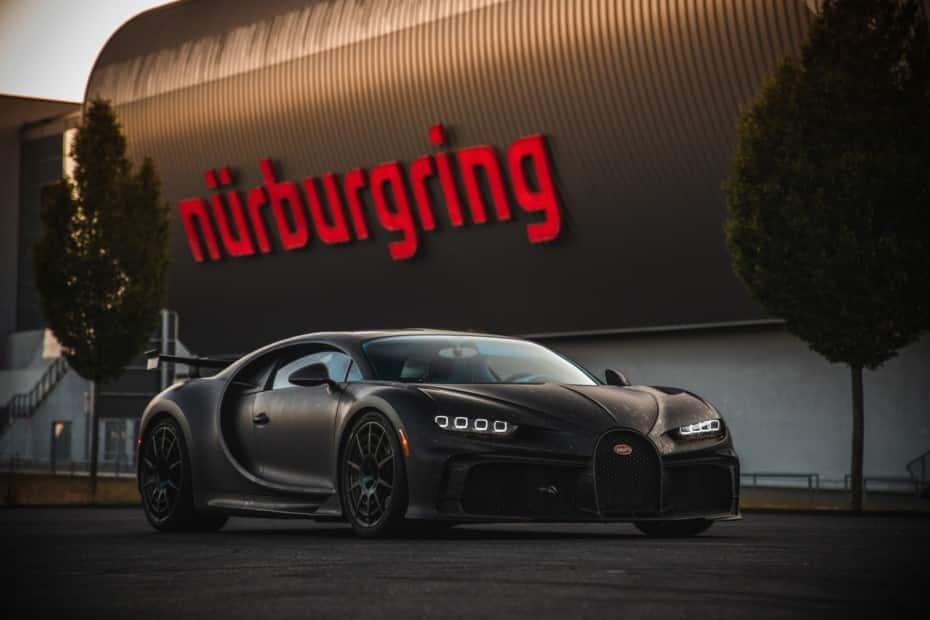 El Bugatti Chiron Pur Sport finaliza sus pruebas en el Infierno Verde