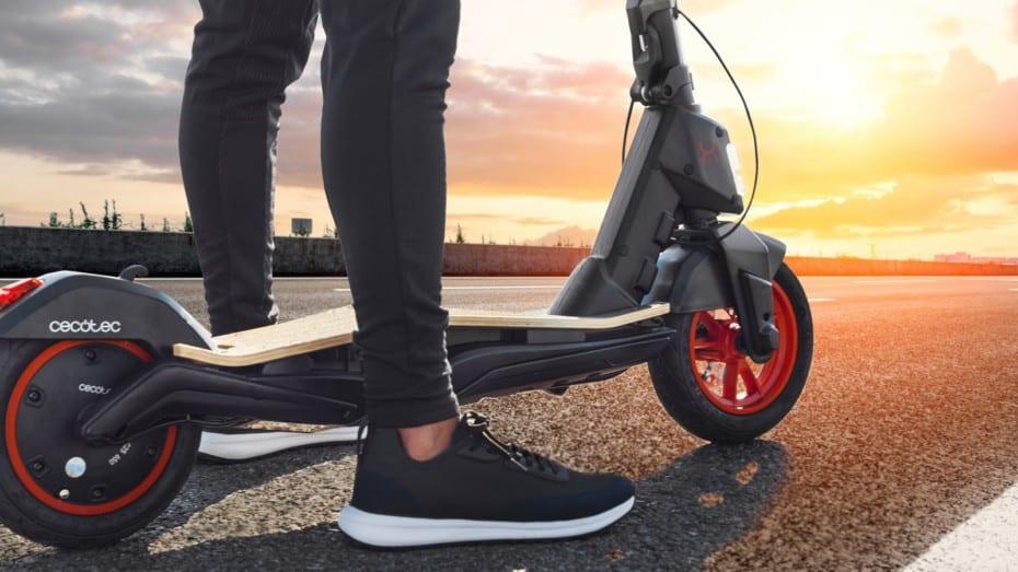 CECOTEC Bongo Serie S Unlimited: aluminio, magnesio y bambú para el patinete deportivo
