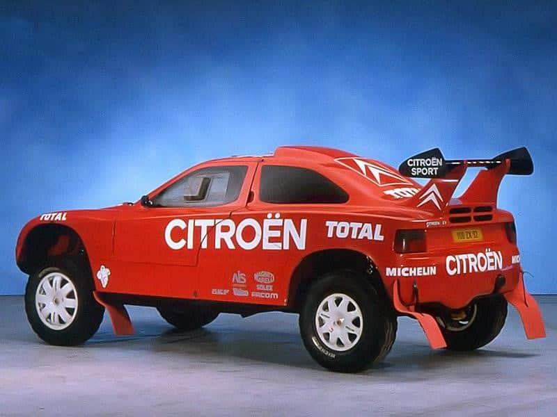 El mítico Citroën ZX Rally-Raid cumple 30 años