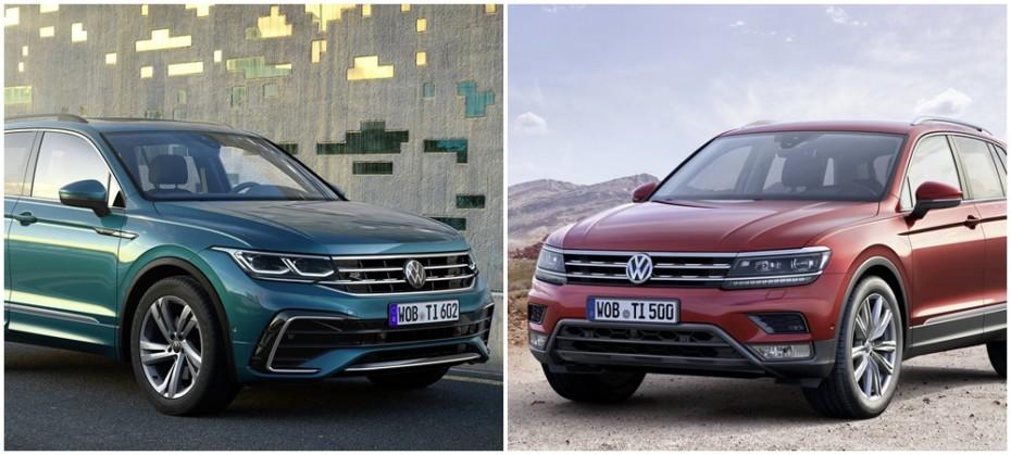 Comparación visual Volkswagen Tiguan 2020: ¿Qué tal le han sentado los cambios al superventas?