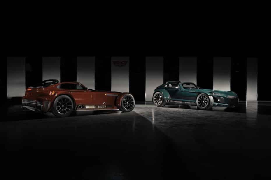 Donkervoort D8 GTO-JD70 Bare Naked Carbon Edition: Dieta rica en fibra y motor Audi de cinco cilindros
