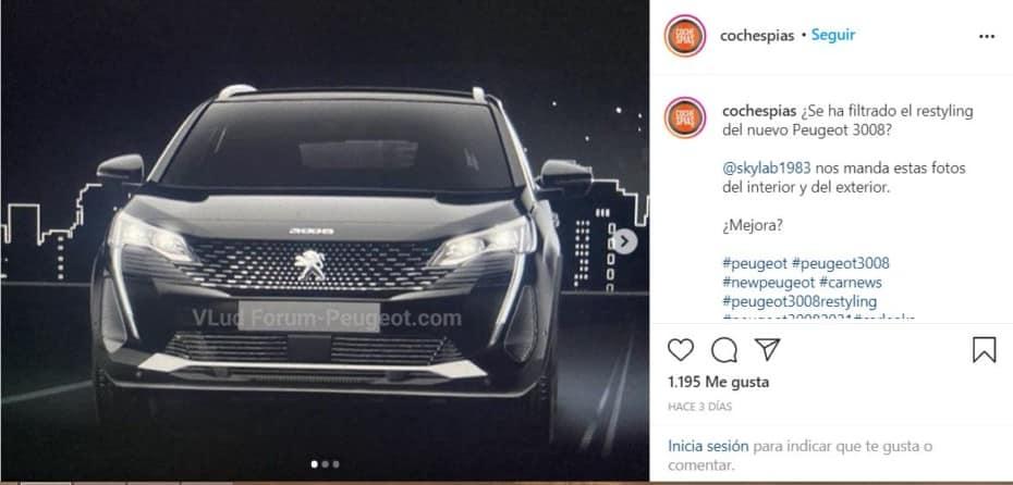 ¡Filtrado! Así será el Peugeot 3008 2021: ¿Qué os parece?