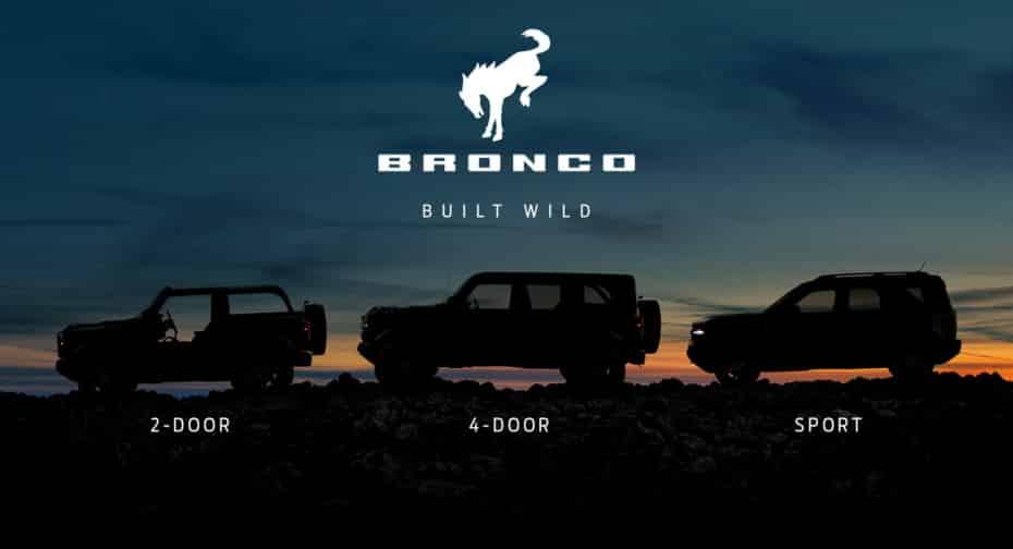 A una semana de su debut, Ford nos muestra la nueva familia Bronco