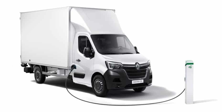 Renault MASTER Z.E.: 130 km de autonomía desde 51.750 euros PFF