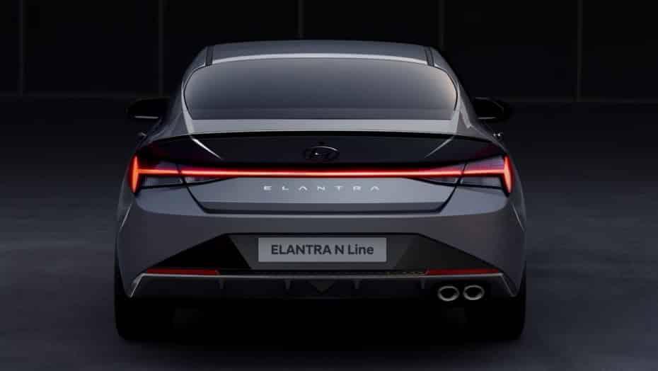 El Hyundai Elantra N Line se deja ver antes de su debut