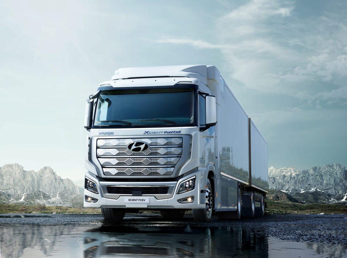 El camión de pila de combustible de Hyundai ya de camino a Europa: Ojo a los planes…