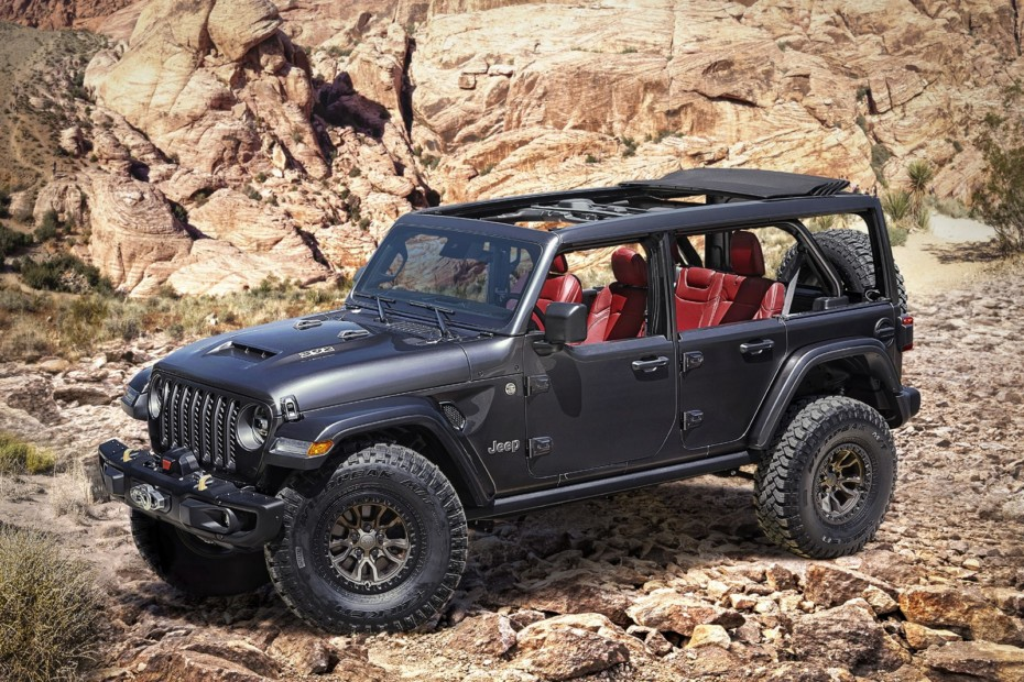 Jeep Wrangler Rubicon, un concept con motor V8 de 6.4 litros: ¿Aguando el debut del Ford Bronco?