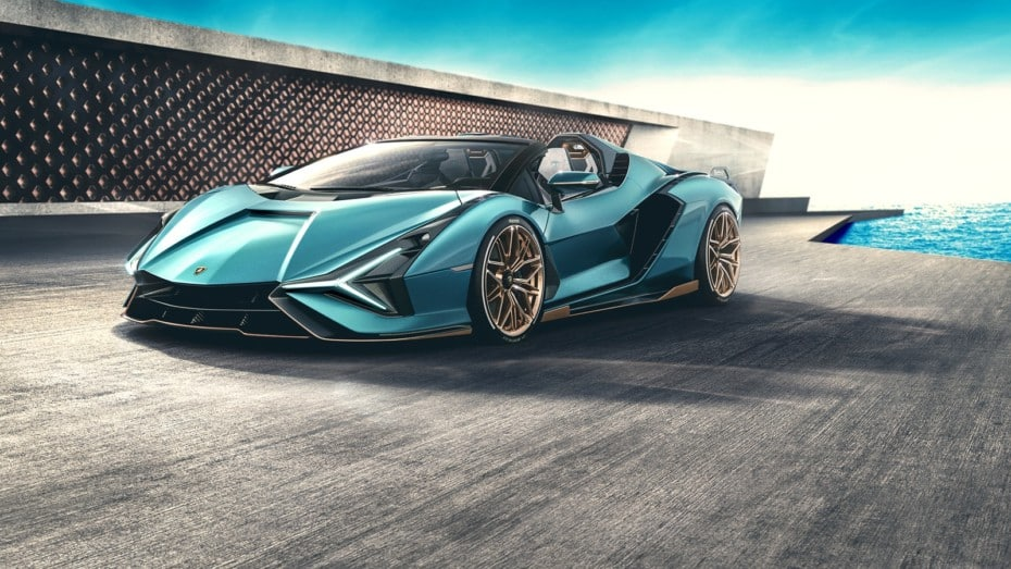 ¡Oficial! Así es el Lamborghini Sián Roadster: Híbrido, salvaje y a cielo abierto