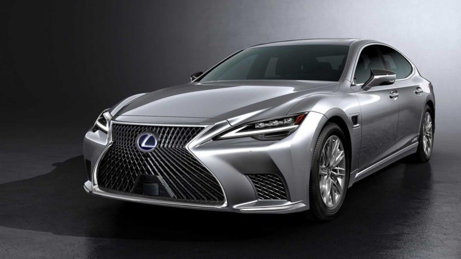 Lexus retoca la imagen de su buque insignia: Así es el renovado LS