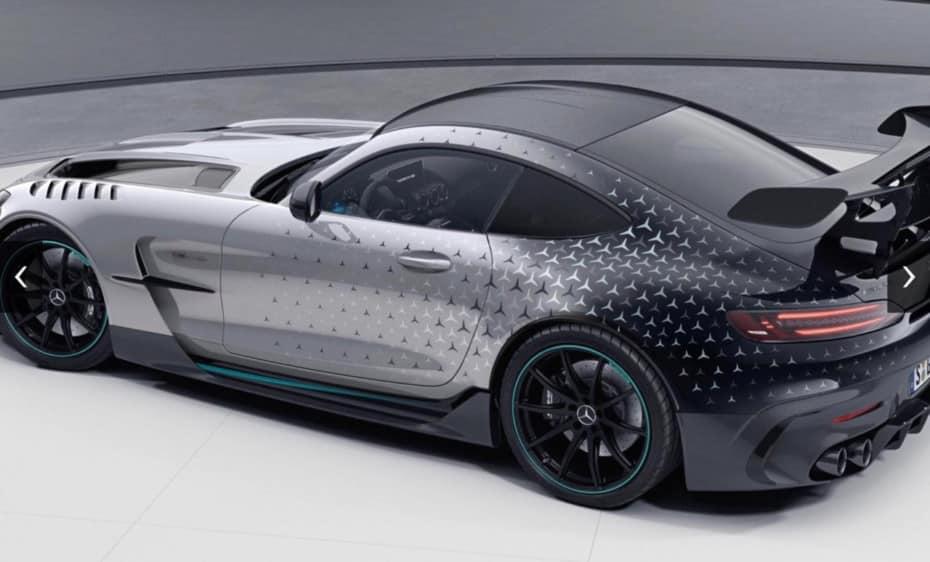 ¡Filtrado! Mercedes-AMG GT Black Series 'P One Edition': Solo para clientes del AMG One
