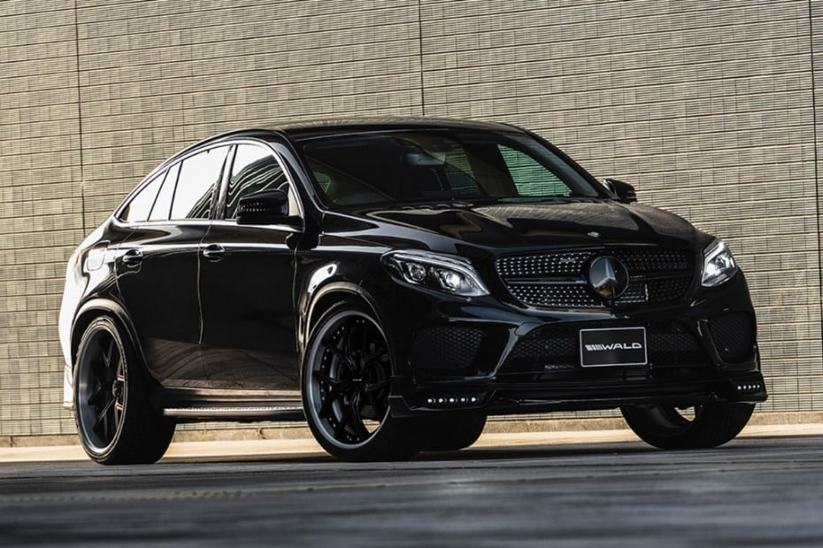 Wald International vuelve a la carga con el paquete Black Bison para el Mercedes-Benz GLE Coupe