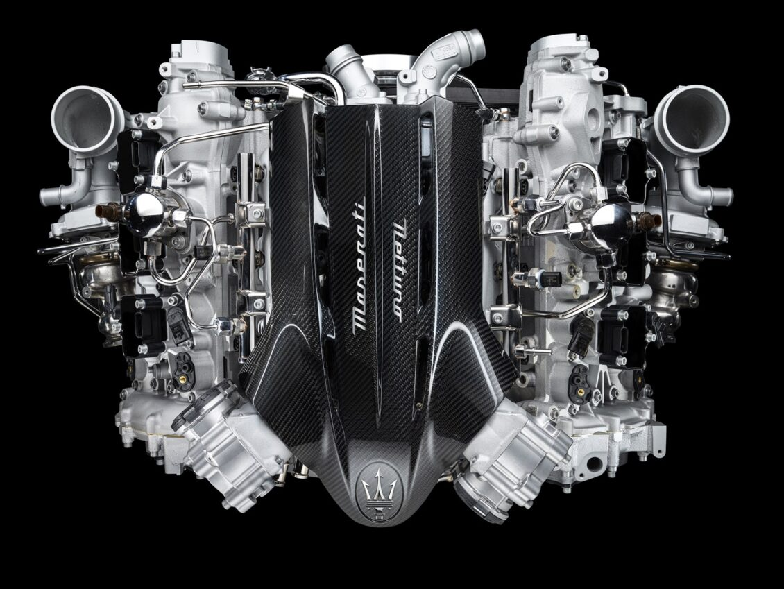 Maserati «da la patada» a Ferrari: Así es su nuevo motor V6 biturbo