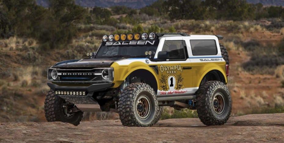 Saleen le mete mano al nuevo Ford Bronco