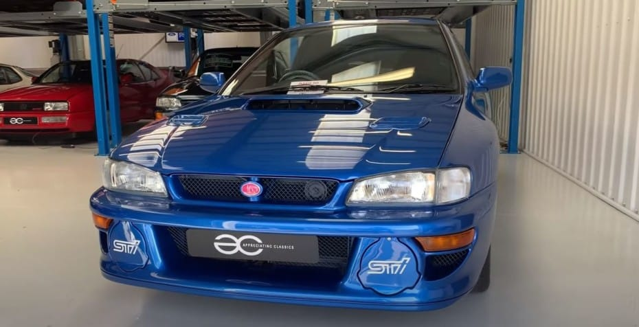 ¡Unicornio a la venta!: Atento a lo que piden por este impresionante Subaru Impreza 22B STi