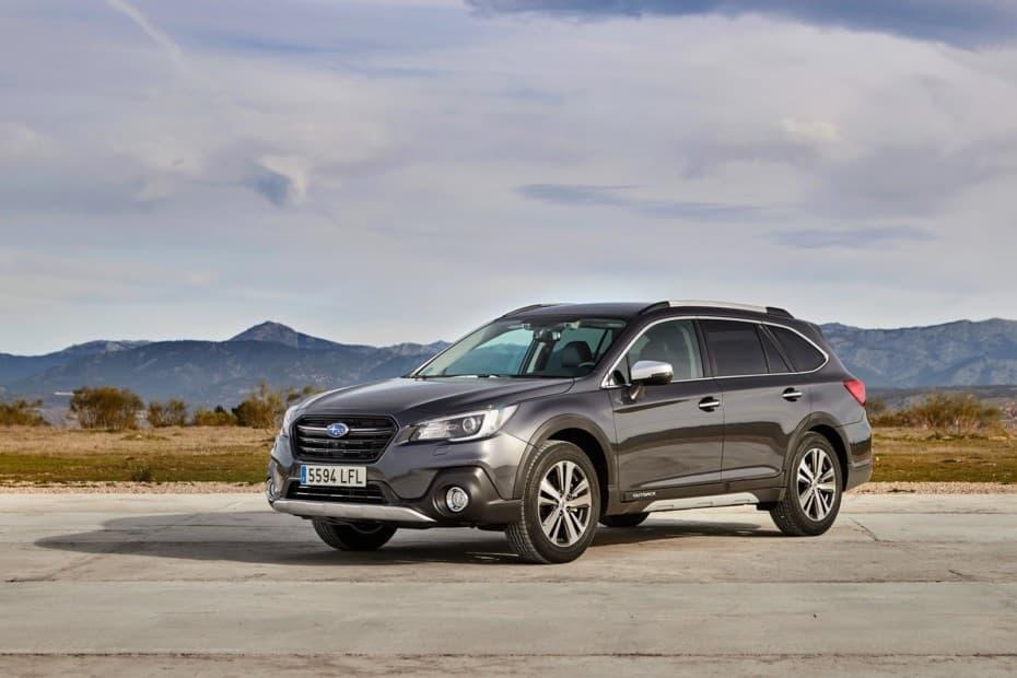 Subaru te regala la pegatina ECO en el Outback y no es una broma