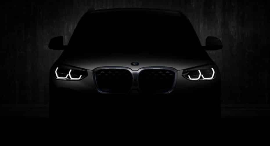 Ya hay fecha para el debut del BMW iX3 2020, aunque aquí puedes verlo completamente al descubierto