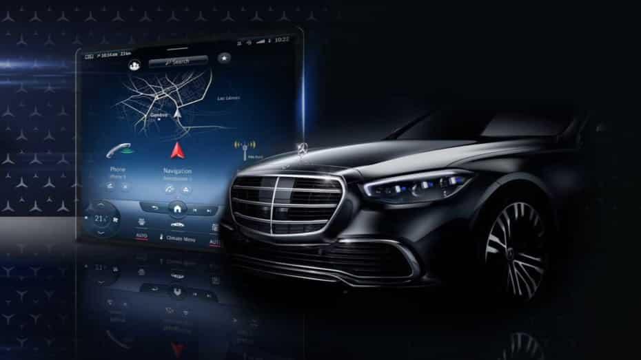 Ya hay fecha para el debut del nuevo Mercedes-Benz Clase S 2021: Ojo al sistema de infoentretenimiento