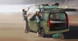 El nuevo Volkswagen Caddy Beach debutará en Septiembre: primeros detalles de la