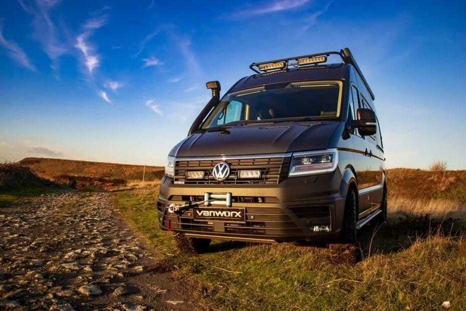 El Volkswagen Crafter MaxTraxx te lleva en familia hasta el fin del mundo