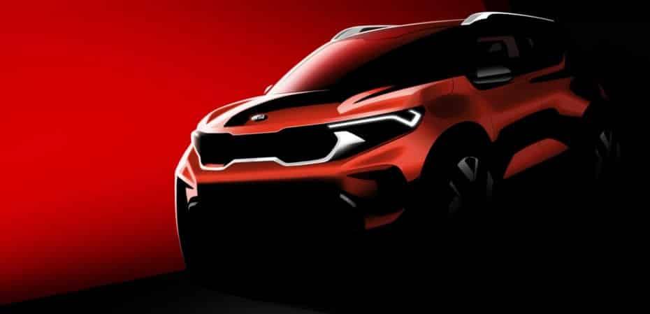 Primer teaser del Kia Sonet: El segundo modelo «made in India» de la marca no llegará a Europa