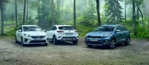 Aquí los 75 modelos más vendidos en Suecia durante julio: Kia