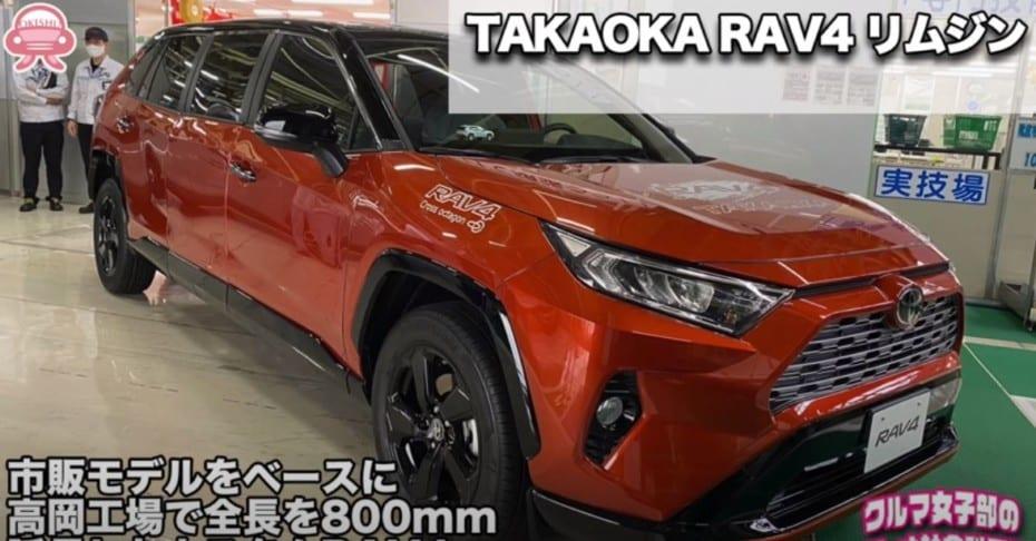 ¿Hacer una limusina con un Toyota RAV4?: Aquí la tienes