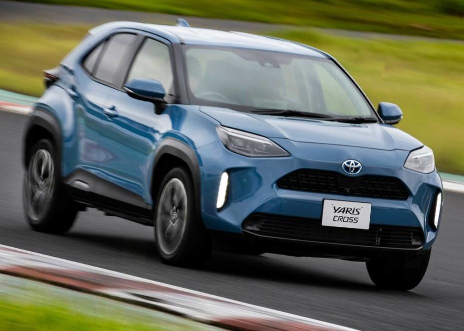 Nuevas imágenes del Toyota Yaris Cross: Ahora al natural