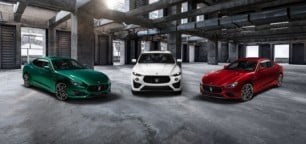 Maserati presenta los Ghibli y Quattroporte Trofeo: V8
