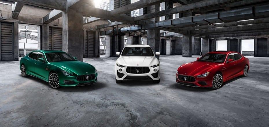 Maserati presenta los Ghibli y Quattroporte Trofeo: V8 «Made by Ferrari»