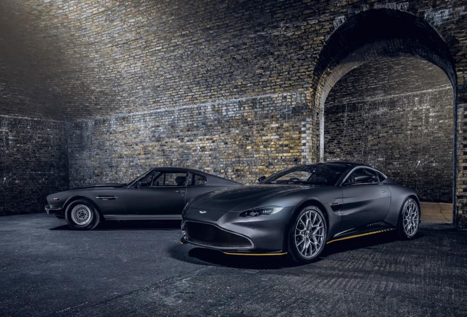 Aston Martin nos muestra los Vantage y DBS Superleggera «007 Edition»