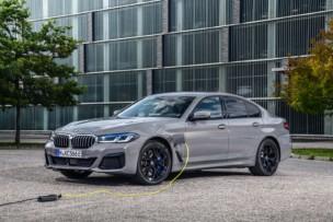 BMW 545e xDrive: el pináculo de los híbridos enchufables tiene 394 CV