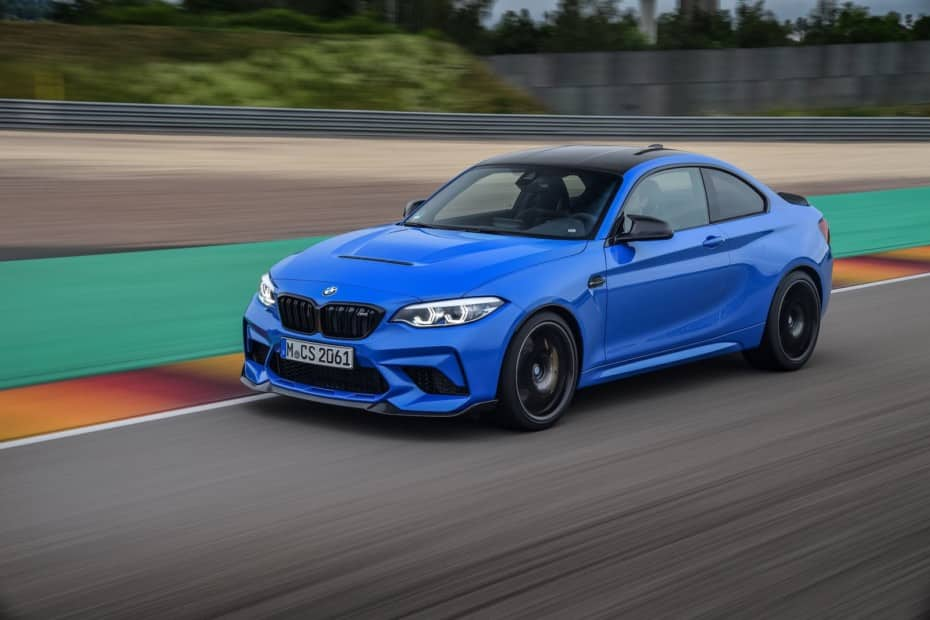 Nuevas imágenes del BMW M2 CS rodando sobre la pista: Sólo habrá 75 en España