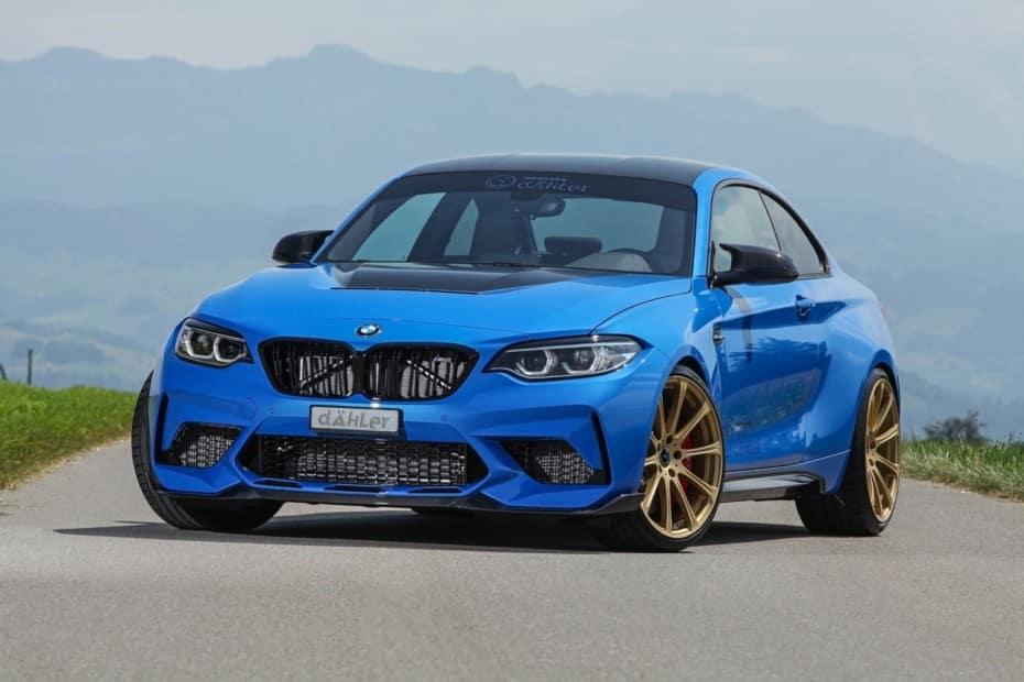 Si el BMW M2 CS te sabe a poco, puedes optar por esta versión con 100 CV extra