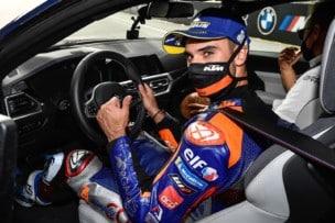 Miguel Oliveira se lleva el primer BMW M4 Coupé por ganar una carrera de MotoGP