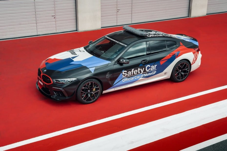 Así es el BMW M8 Gran Coupé MotoGP Safety Car: La estrella de los circuitos en 2021