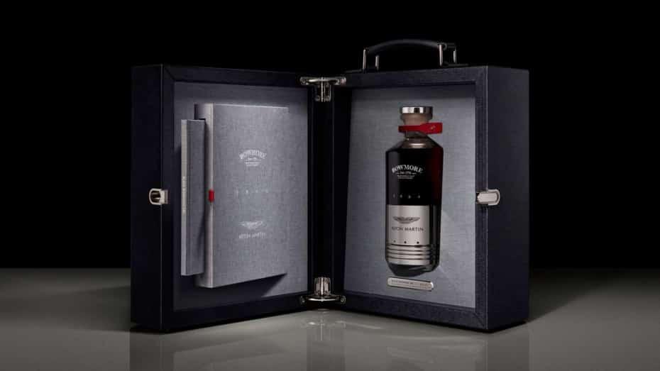 Este whisky es tan exclusivo como el Aston Martin DB5 en el que se inspira