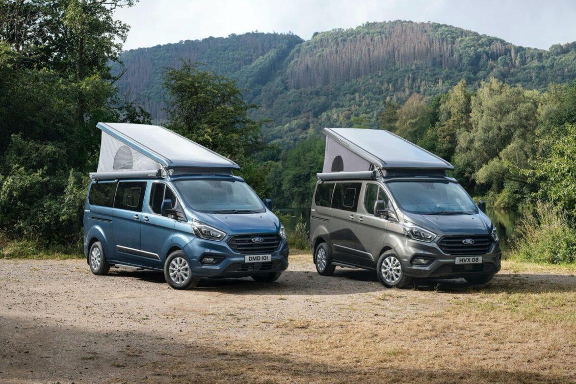 El Ford Transit Custom Nugget Plus 2020 ahora también con techo elevable