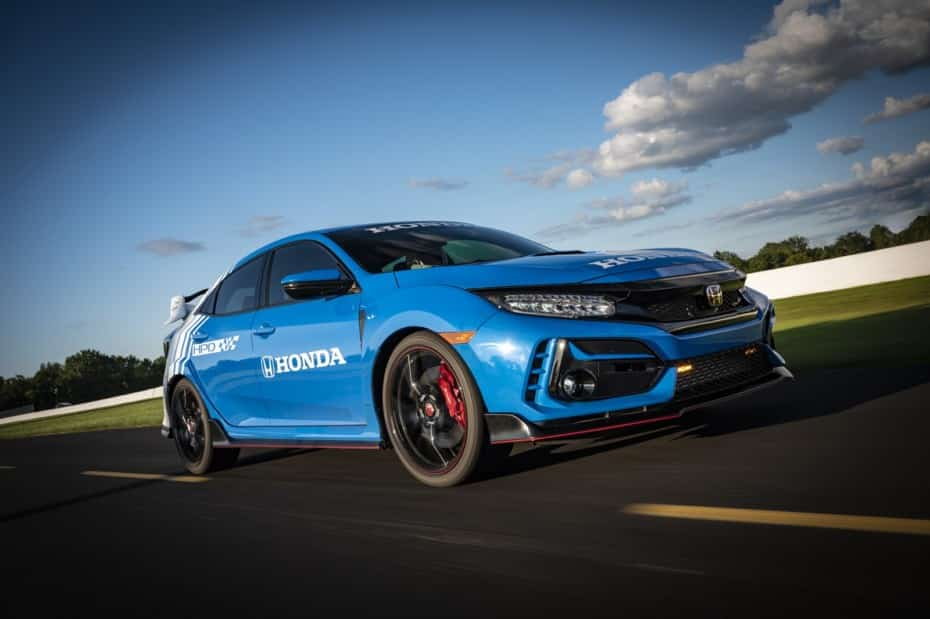 Este Honda Civic Type R pondrá orden en la INDYCAR Series