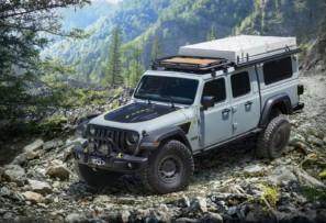 Jeep Gladiator Farout concept: con la casa a cuestas