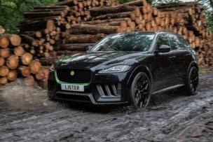 Lister Stealth: Cuando el Jaguar F-PACE SVR se dopa para comer superdeportivos