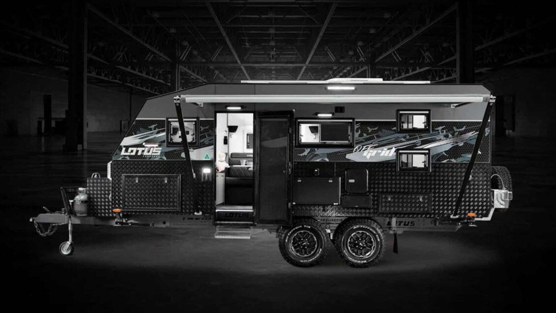 Lotus Caravans Off Grid 2020: Lujo y espacio para toda la familia dentro y fuera del asfalto