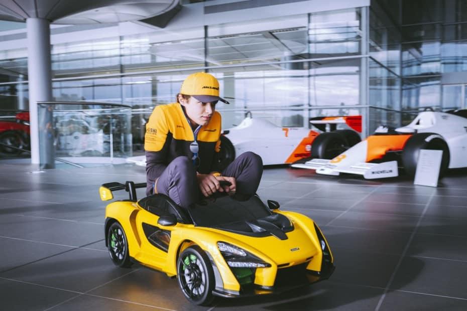 Se llama McLaren Senna 'Ride-On' y «sólo» cuesta 465 euros…