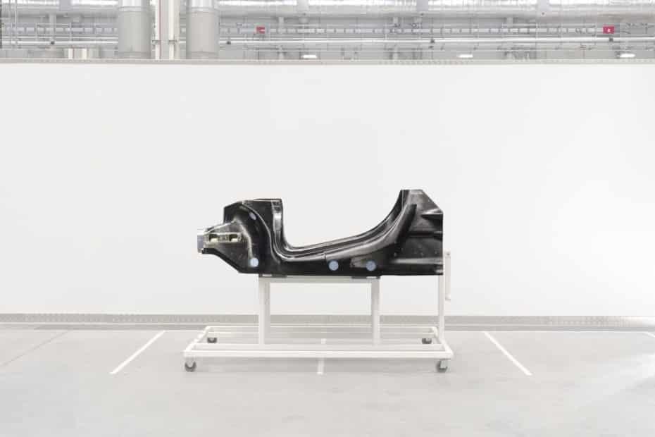 Así es la nueva arquitectura de McLaren preparada para le hibridación