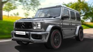 Dieta rica en fibra de carbono y más de 800 CV para el Mercedes-AMG G63