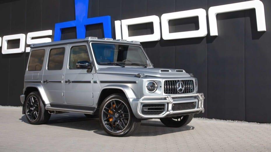 Este Mercedes-AMG G63 luce discreto, pero esconde más de 950 CV y 1.278 Nm de par
