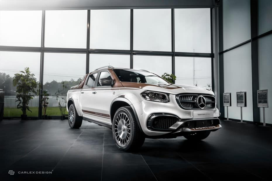 Puro lujo náutico para el Mercedes-BenzClase X Yatching Edition 2020