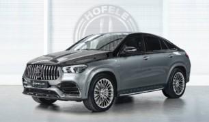 El Mercedes-Benz GLE Coupé de Hofele se inspira en los Maybach para ofrecer el máximo lujo
