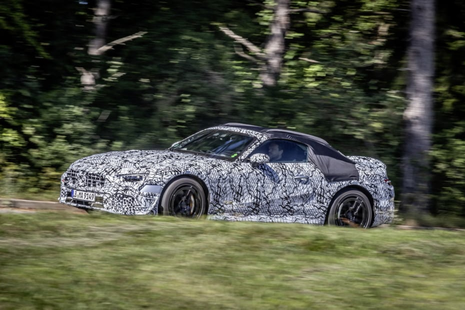 Mercedes-Benz nos muestras las primeras imágenes del SL 2021: Estará desarrollado por Mercedes-AMG
