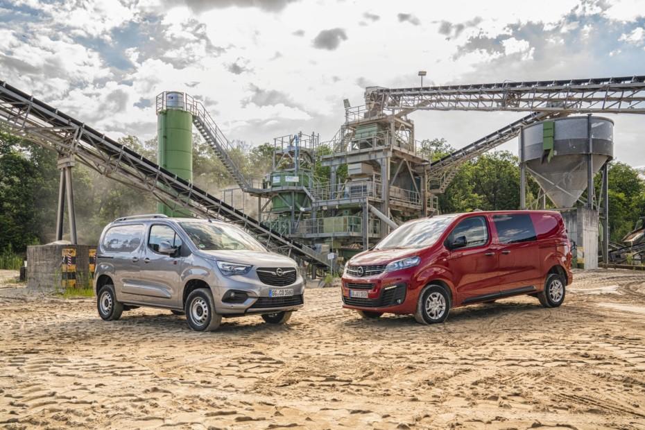 Los Opel Combo Cargo y Vivaro ahora disponibles con tracción total Dangel